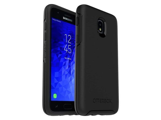 wholesale dealer 14368 62294 OtterBox Symmetry Series Case for Samsung Galaxy J3/J3 (2018)/J3 V 3rd  gen/J3 3rd gen/Amp Prime 3/J3 Star - Retail Packaging - Black - Newegg.com
