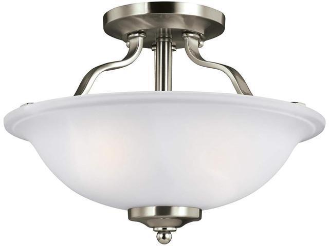 Sea Gull Lighting 7739002EN3-962 Two Light Semi-Flush