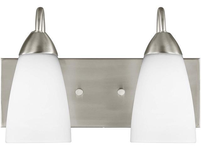 Sea Gull Lighting 44236 962 2 Light Brushed Nickel