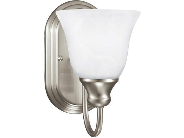 Sea Gull Lighting 44236 962 2 Light Brushed Nickel: Sea Gull Lighting 41939EN3-962 One Light Wall/Bath Sconce