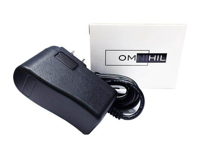 Omnihil AC /DC Power Adapter Compatible with Kocaso NB1016 NB1016A 10-Inch Google Android 4.0 Netbook Notebook Switching Cable PS