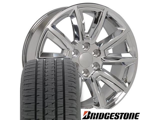 OE Wheels 20 Inch Fits Chevy Silverado Tahoe GMC Sierra Yukon Cadillac Escalade CV94 Chrome 20x8.5 Rim Hollander 5420