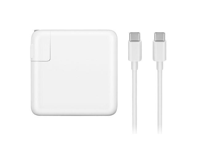 87W Apple Macbook Pro Charger USB-C Power Adapter Charger with USB-C to  USB-C Charge Cable 6 56 ft - Newegg com