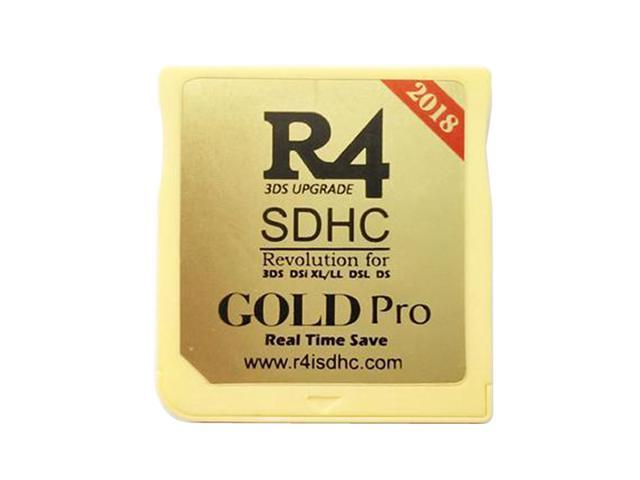 (2018 Version) New R4I SDHC Dual Core Gold Pro Flash Card Adapter for 3DS,  DSi XL / LL, DSL, DS - Newegg com