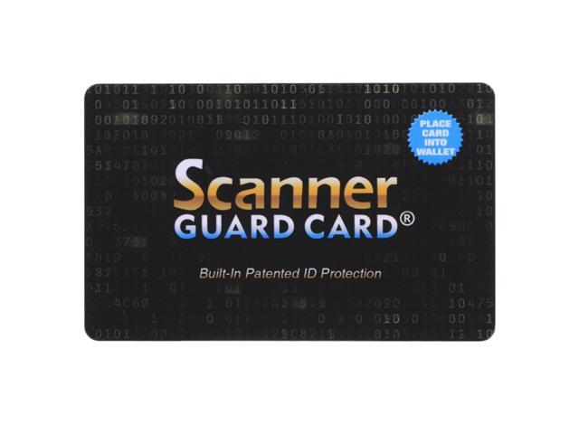 9d11a93588f9 Scanner Guard Card RFID Blocking Card, Built-in Patented ID Protection -  Newegg.com