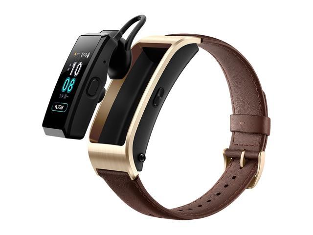 Huawei TalkBand B5 Bluetooth 4 2 Headset Fitness Tracking Business Smart  Bracelet for Android / iOS, 1 13 inch Touch AMOLED 2 5D Screen, Support