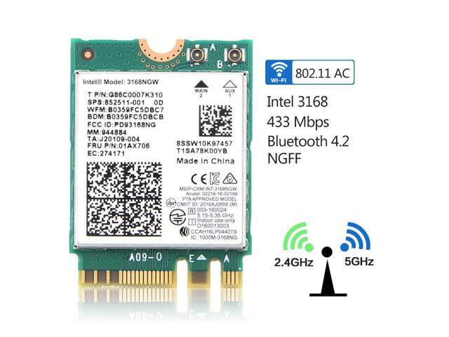 INTEL DUAL BAND 2.4Ghz/&5Ghz 7260NGW-AN 300M WIRELESS WIFI WLAN CARD Bluetooth4.0