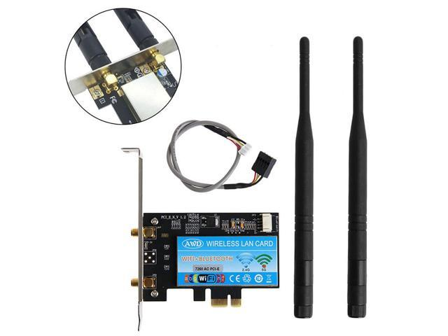 Adapter of BCM943602CS WiFi + Bluetooth 4 0 Card to PCI-E x1 for
