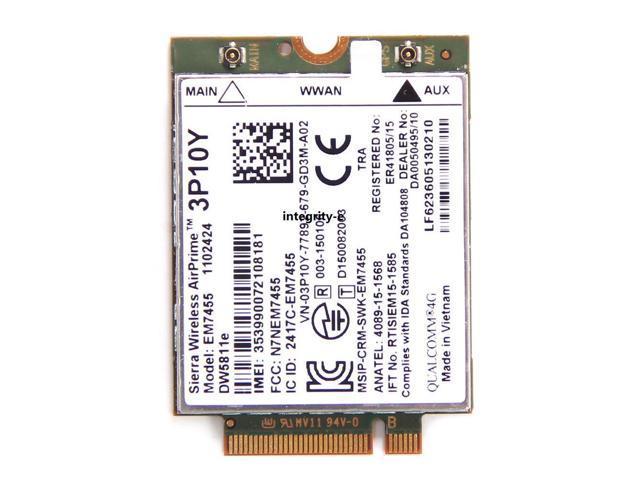 Sierra Wireless EM7455 DW5811e 3P10Y Qualcomm 4G LTE NGFF WWAN Wifi Module  Card - Newegg com