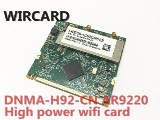 unex DNMA-H92 high-power 802 11 a/b/g/n dual-band wifi 2x2 mini-PCI module  400mW (26 dBm) AR9220 300M 2 4G 5G WiFi Module - Newegg com