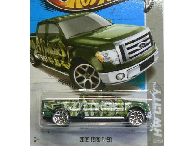 Hot Wheels Holiday Hot Rods Green Ford F-150 Pickup