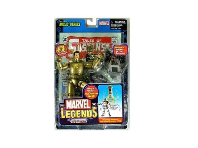 d2b565a08 Marvel Legends Series 14 Action Figure 1st Appearance Gold Iron Man VARIANT  - Newegg.com