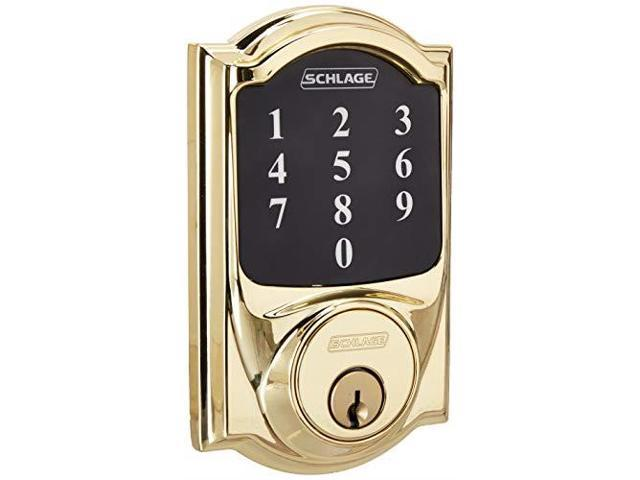 Schlage Lock Company BE468CAM605 Connect Camelot Touchscreen ...