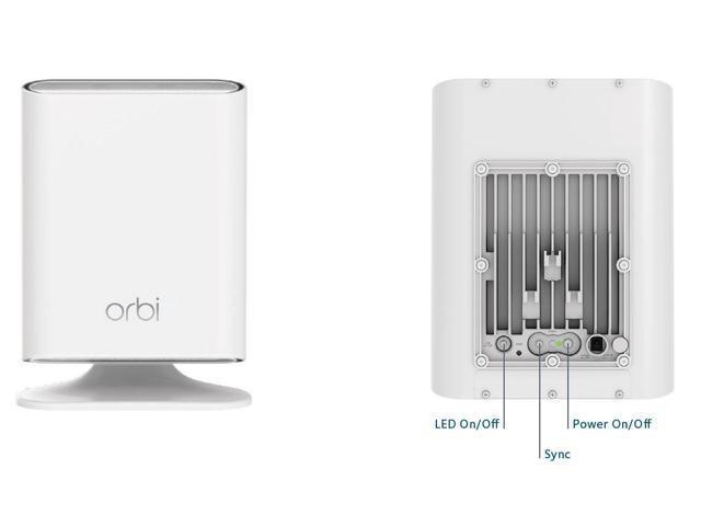 NETGEAR Orbi Outdoor WiFi Mesh Extender & Add-on Satellite - Newegg com
