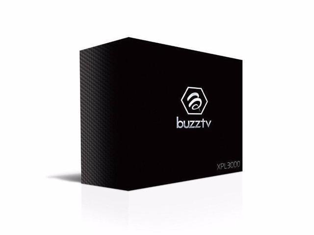 BuzzTV XPL 3000 Android IPTV OTT set-top HD 4K TV Box (GOLD