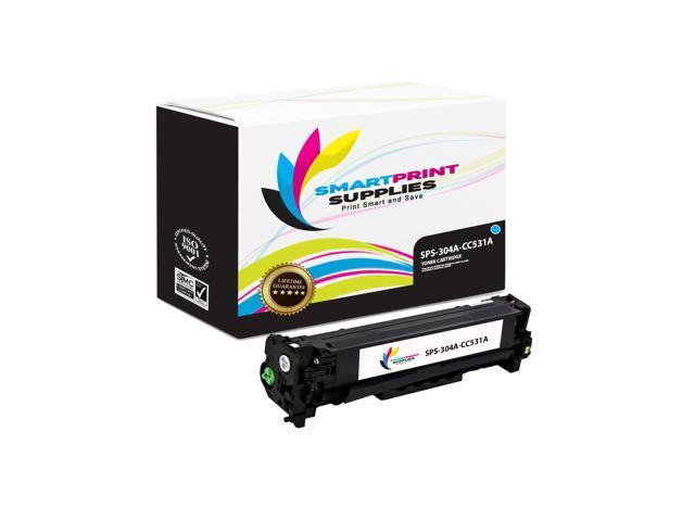Smart Print Supplies Compatible 304A CC531A Cyan Toner