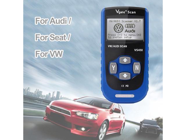 VS450 OBD2 CAN OBDII Scanner Tool for VW for AUDI Code Reader Diagnostic  Tool - Newegg com