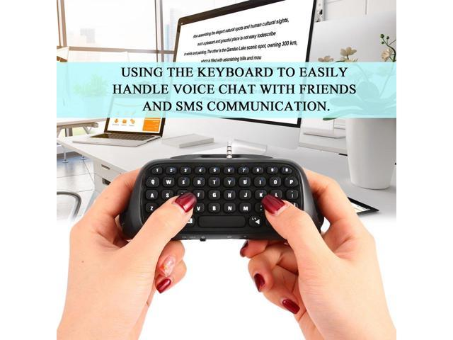 3 5mm Plug Durable Protable Bluetooth Message Keyboard Wireless Mini  Keyboard For Sony For Playstation 4 For PS4 Controller - Newegg com