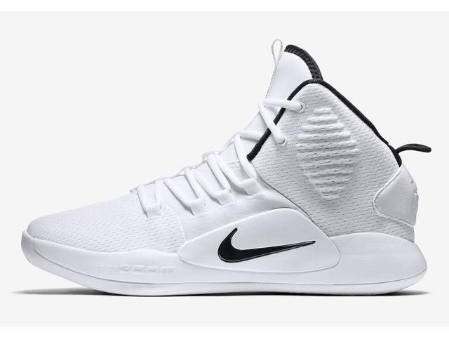 New Nike Hyperdunk X TB White/Black Men 11/Women 12.5