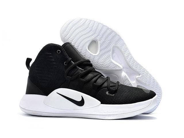 8c0ab8fbbf72 New Nike Hyperdunk X TB Black White Men 12 Women 13.5 Basketball Shoes  AR0467
