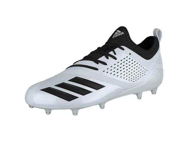 e0025dacf06 New Adidas Mens 13.5 adizero 5-Star 7.0 Football Molded Cleats White Black