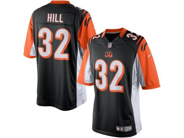 purchase cheap 58483 a8270 New Nike Men's Medium Home Game Jersey Cincinnati Bengals # 32 Hill  Orng/Wht/Blk - Newegg.com