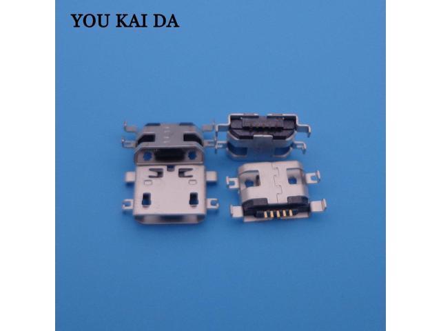 500Pcs Usb Jack Charging Port connector For lenovo A398t A860e A369 B8000  B8000F B6000 B6000H B6000F a890e S890 charge charger - Newegg com