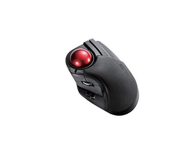 3be30f36340a ELECOM M-HT1DRBK Wireless Trackball Mouse - Extra Large Ergonomic Design,  8-Button Function with Smooth Tracking, Black - Newegg.com