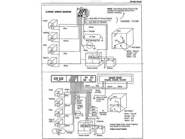 Kib M28Vwfw Rv Kib 4 Tank Monitor Panel - Newegg com