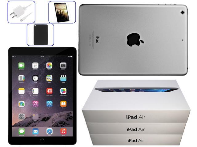 Apple iPad Air 2 9.7inch 16GB Space Gray (WiFi Only) - Bundle