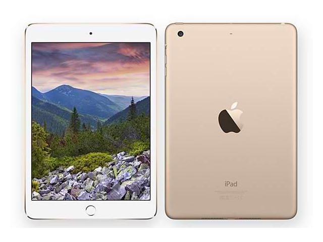 Apple iPad Mini 3 64GB Wifi Tablet Gold