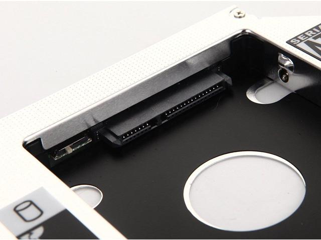 Deyoung 2nd Hard Drive HD SSD Caddy Adapter for ASUS K50IE K50IJ K50IL K50IN K50IP K51AB