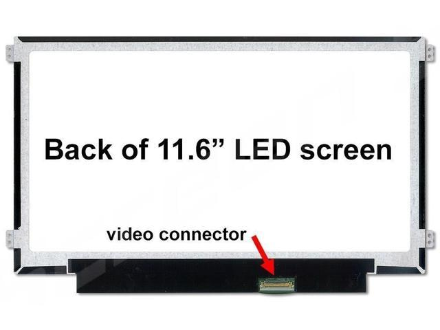 """Dell Inspiron P24t P24t001 Replacement LAPTOP LCD Screen 11.6/"""" WXGA HD LED DIODE"""