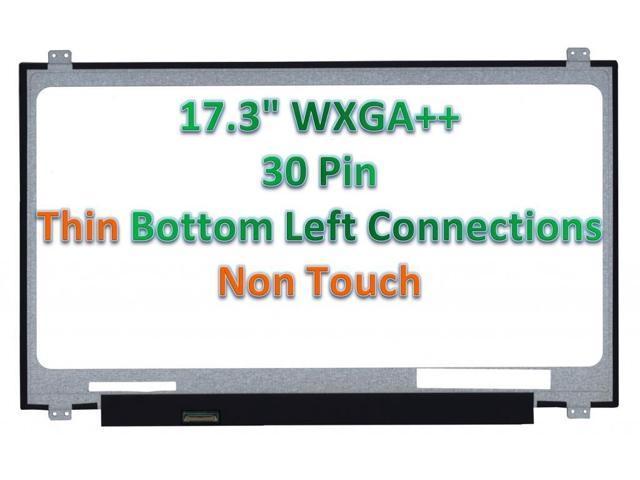 """LAPTOP LCD SCREEN FOR DELL 3V6TR 17.3/"""" WXGA+ 03V6TR  B173RTN01 V.1"""