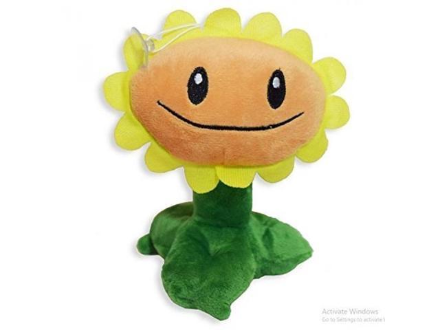 PVZ Sunflower Plant Cute Soft Plush Toy Doll - Newegg com