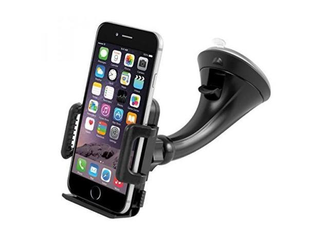 timeless design 9d134 ee943 Car Mount Holder, Getron Windshield Dashboard Universal Car Cell Phone  Cradle for iPhone X 8 Plus 8 7 Plus 6S 6 SE 5S Samsung Galaxy S8 Plus S7  Edge ...
