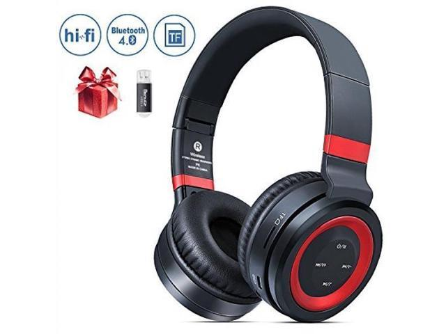 ALH Bluetooth Headphones Over Ear, Krbp Noise Cancelling Bluetooth  Headphones Wireless Stereo Headset Bluetooth Headphones Over Ear with Mic  Wired and