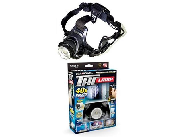 Bell + Howell Taclight Headlamp, Hands-Free Flashlight As Seen On TV (40x  Brighter) - Newegg com