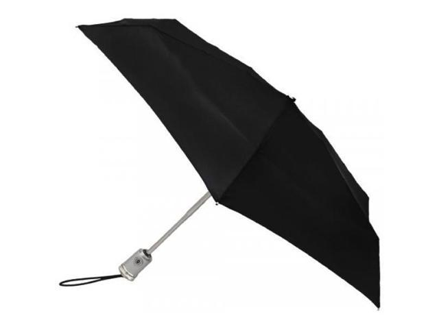 Totes Auto Open Auto Close Umbrella,Black,One Size - Newegg com