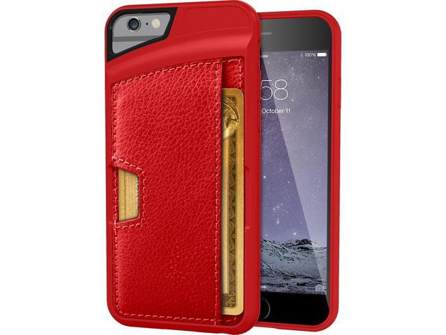 quality design 31791 d8fd8 Silk iPhone 6/6s Wallet Case - Q Card Case [Slim Protective Kickstand by  CM4] with Credit Card Holder - Wallet Slayer Vol. 2 - Red Rouge - Newegg.com