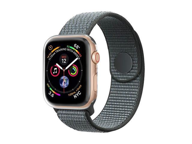 new products c8a7a 4e33a BicasLove Compatible for Apple Watch Sport Loop Band 38mm 40mm 42mm 44mm  with Apple Watch Screen Protector Case for iWatch Apple Watch Series  4/3/2/1 ...