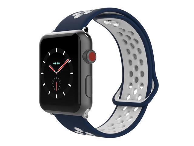 newest collection good texture fantastic savings SIXRARI Compatible for Apple Watch Band 42mm 44mm, Soft ...