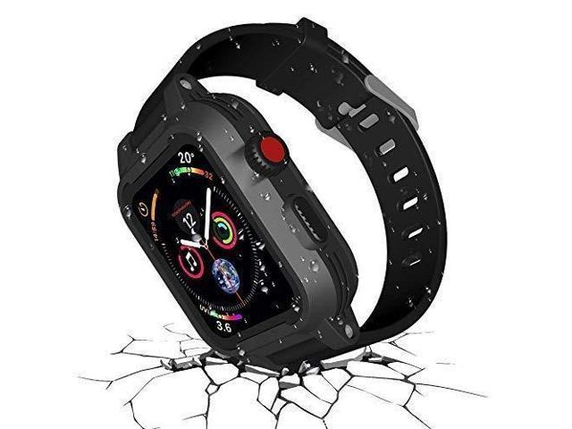 huge inventory 00e40 1aa5d Funcilit Waterproof Apple Watch Case 38mm Series 3 & 2 with 2 Watch Bands,  Waterproof case for 38mm Apple Watch Heavy Duty Impact Resistant iWatch ...