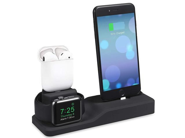 finest selection 1f220 db1c3 Darmoshark for Apple Watch Charging Station,Charging Stand for AirPods  iPhone,Support for Apple Watch Series 4/3/2/1/ AirPods/iPhone X/8/8Plus/7/7  ...