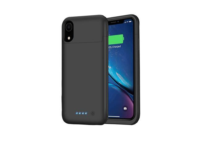 info for c64e1 fc7a8 Battery Case for iPhone XR, Feob Upgraded 5500mAh Portable Charging Case  Extended Battery Pack for iPhone XR Charger Case (6.1 inch)- Black - ...