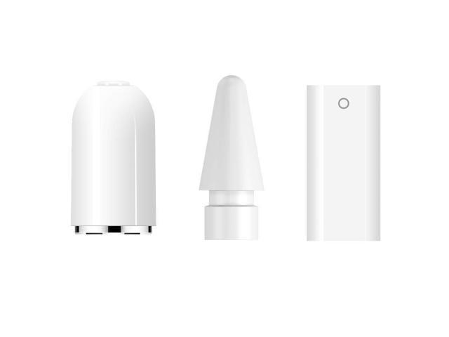 buy online cb5bf 74ca7 TITACUTE 3 Pack iPencil Accessories, Stylus Pencil Tip/Replacement  Cap/Charger Adapter Compatible for iPad Pro Apple Pencil - Newegg.com