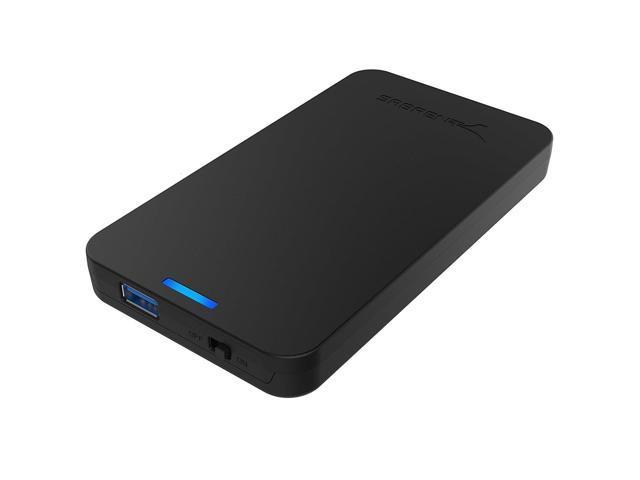 Sabrent 2.5-Inch SATA to USB 3.0 Tool-free External Hard Drive Enclosure...