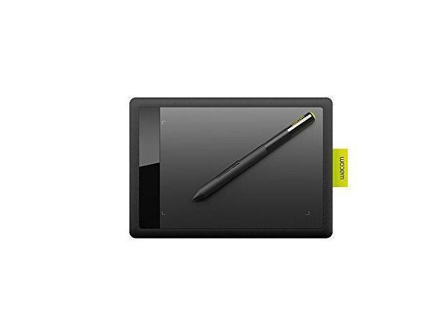 Wacom Bamboo CTL471 Pen Tablet for PC/MAC (Black and Lime) - Newegg com