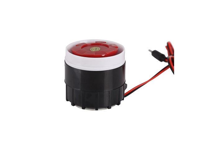 Home Siren, Greyghost SFM-27 Home Alarm Siren, Wired Mini Horn Indoor Siren  Alarm, Electronic Buzzer Siren Decibel Piezo Buzzer IC Alarm Sounder,