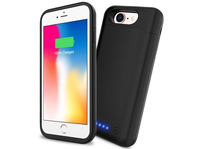 meet 2fc81 d0203 Battery Case iPhone 6/6S/7/8, SHENMZ Upgraded 6000mAh Portable Charging  Battery Pack Compatible iPhone 7/8/6/6S (4.7 inch) Protective Charger Case  ...